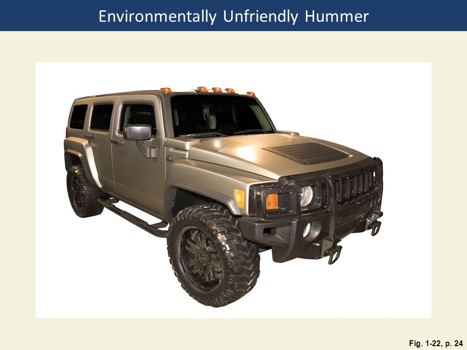 Environmentally Unfriendly Hummer