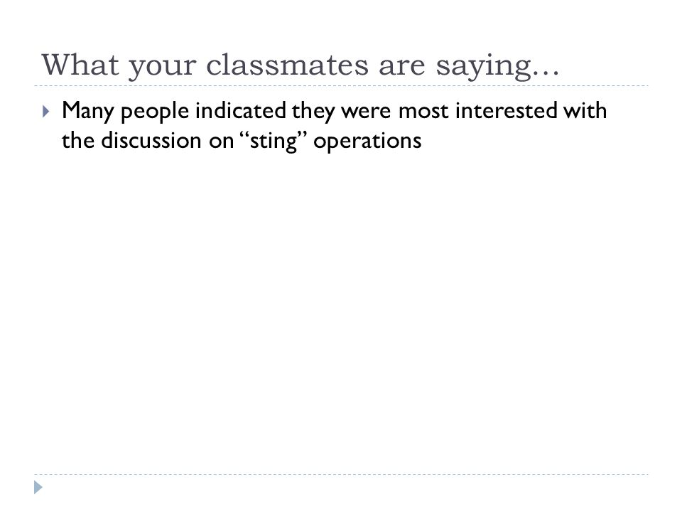 What your classmates are saying…