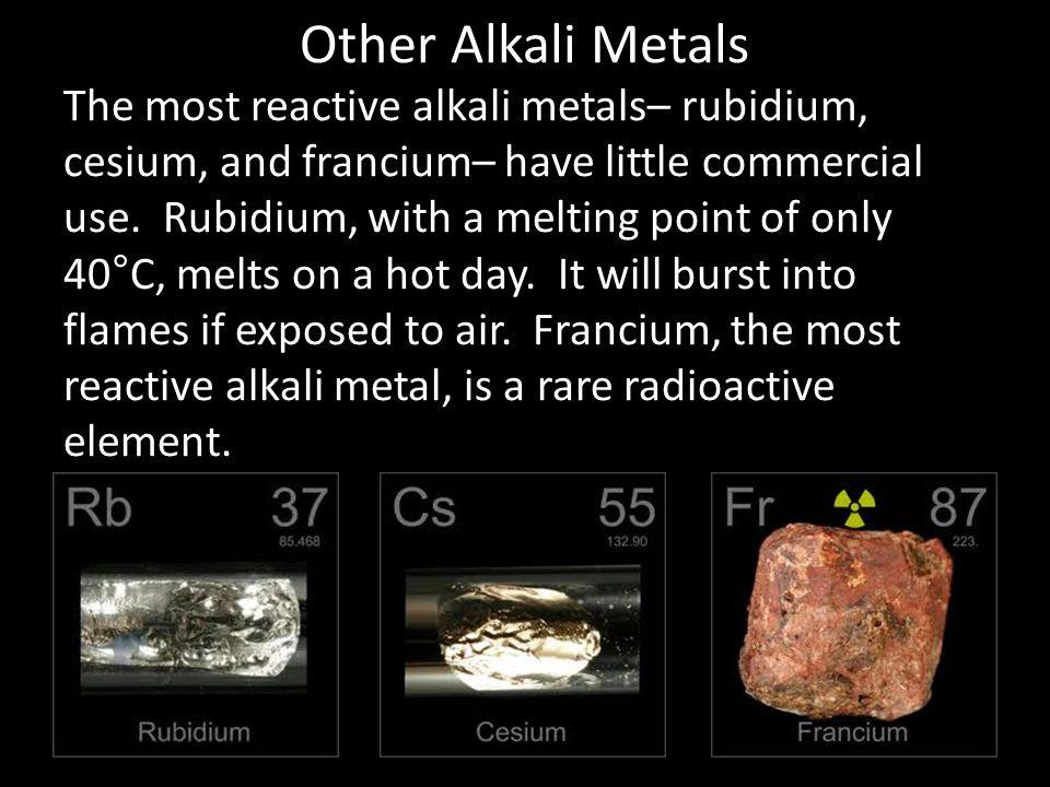 Other Alkali Metals