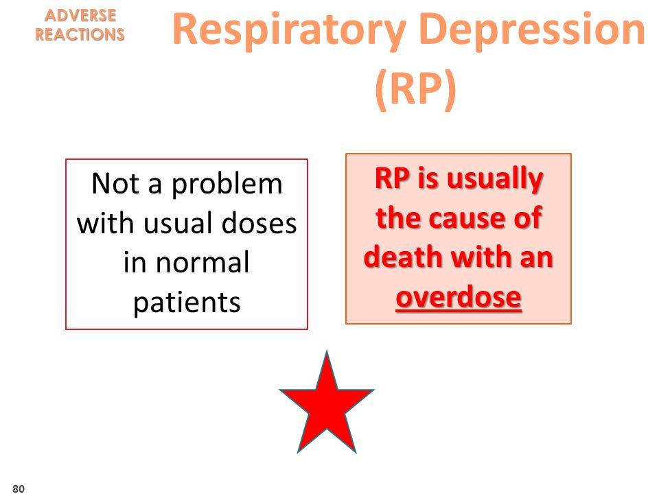 Respiratory Depression (RP)