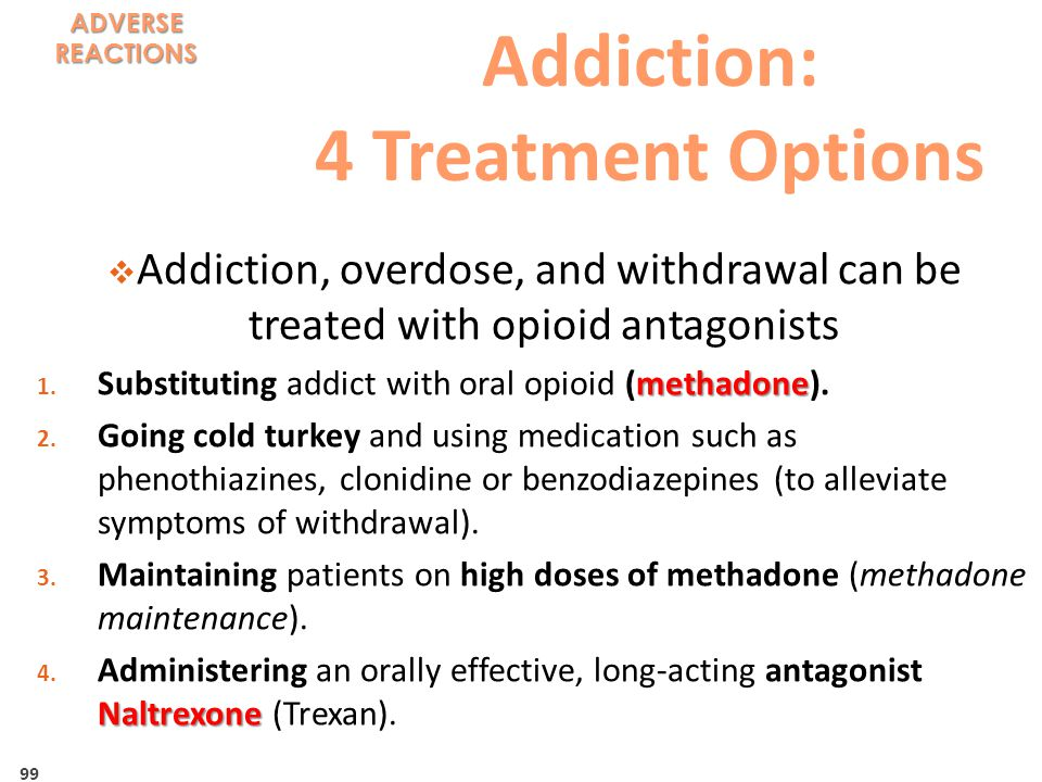 Addiction: 4 Treatment Options