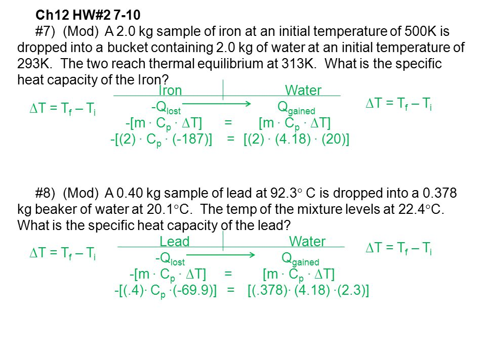 Ch12 HW#2 7-10