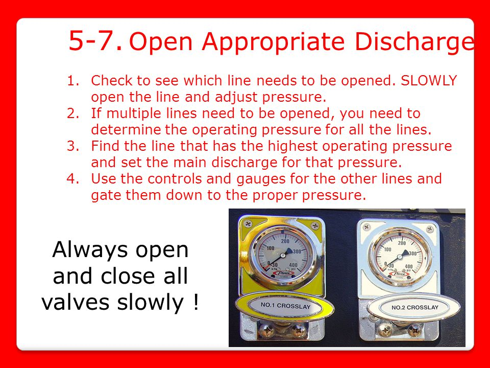 5-7. Open Appropriate Discharge