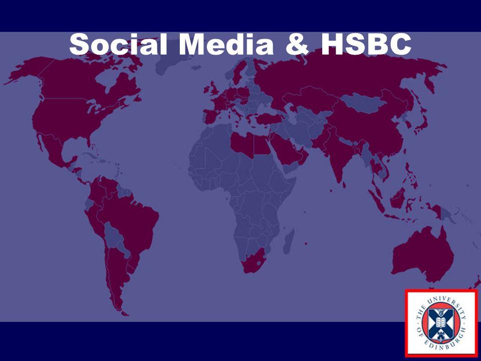 Social Media & HSBC
