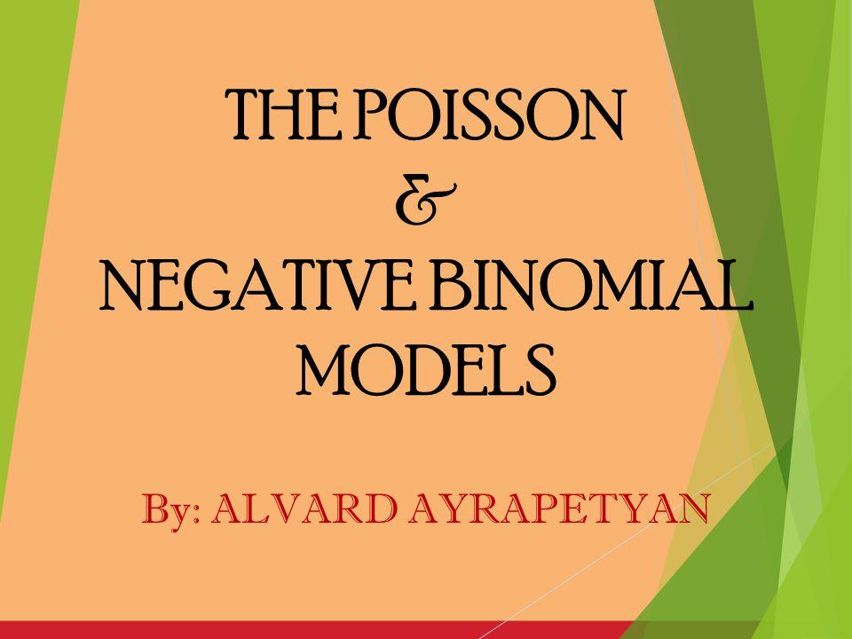 NEGATIVE BINOMIAL MODELS