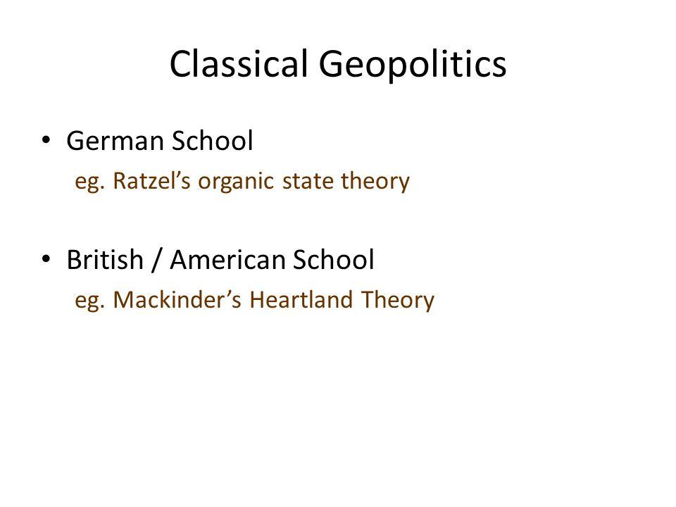 Classical Geopolitics