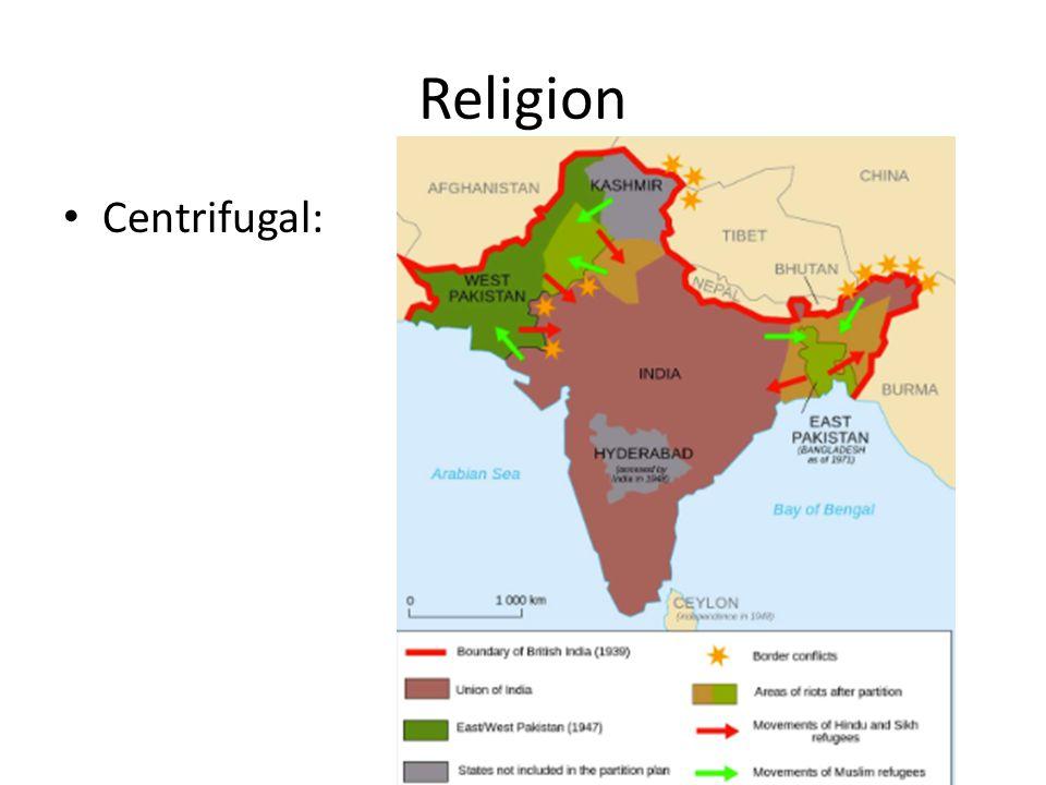 Religion Centrifugal: