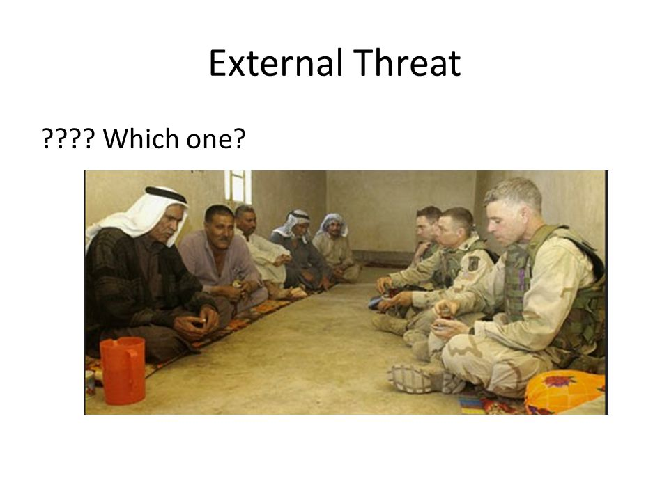 External Threat Which one