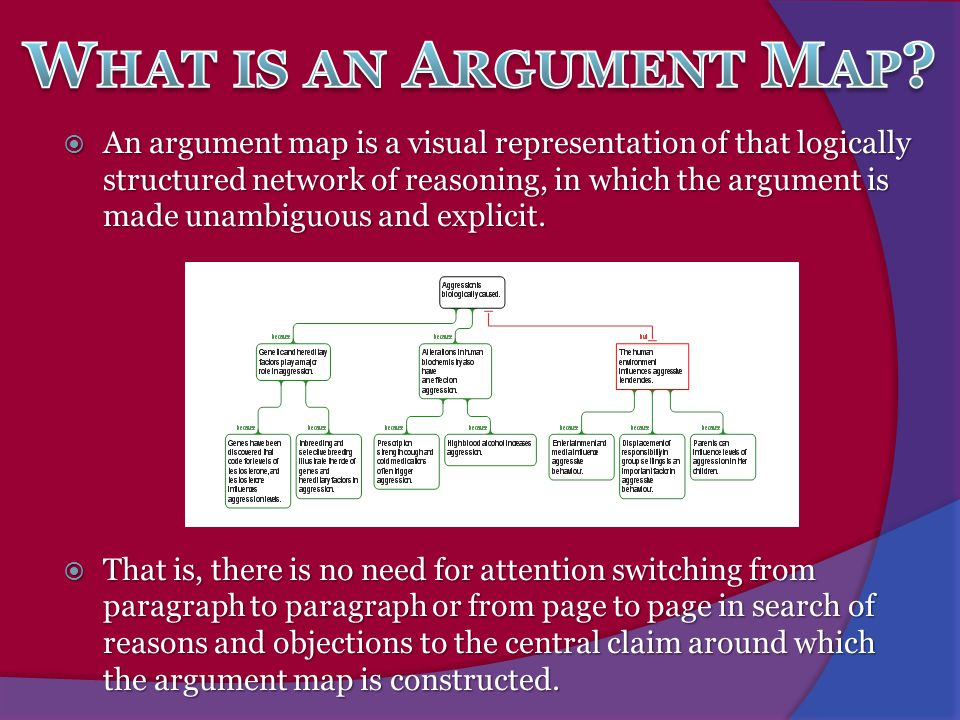 What is an Argument Map