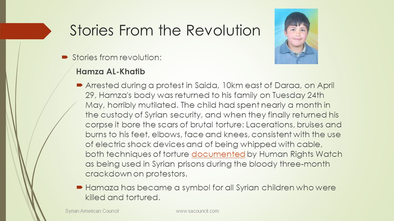 Stories From the Revolution