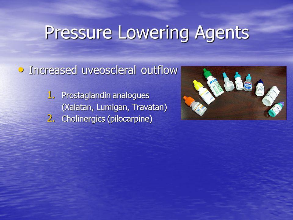 Pressure Lowering Agents