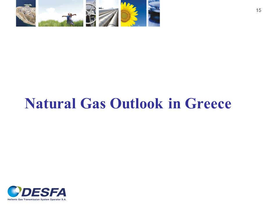 Natural Gas Outlook in Greece