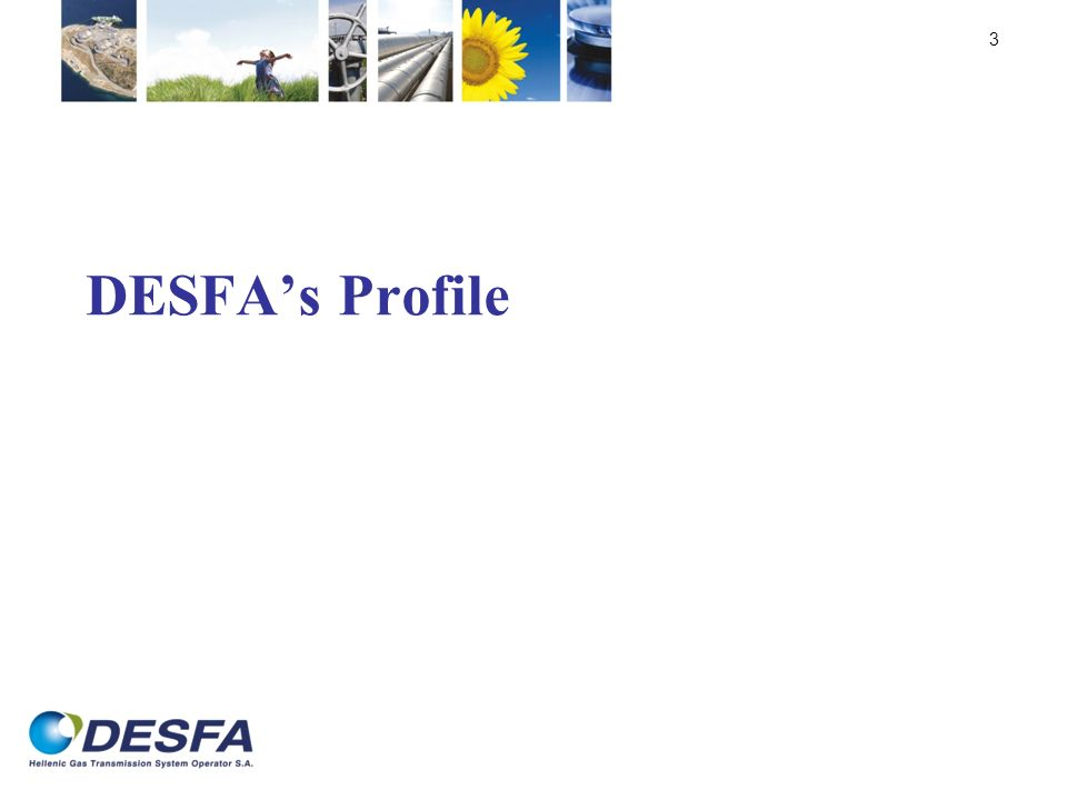 DESFA's Profile