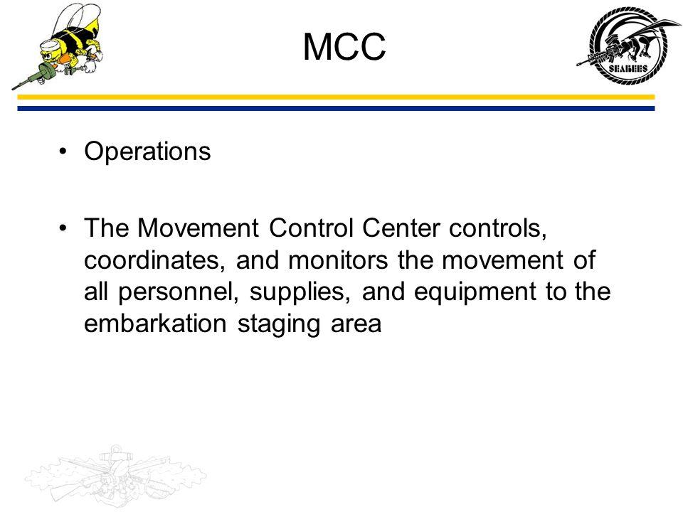 MCC Operations.