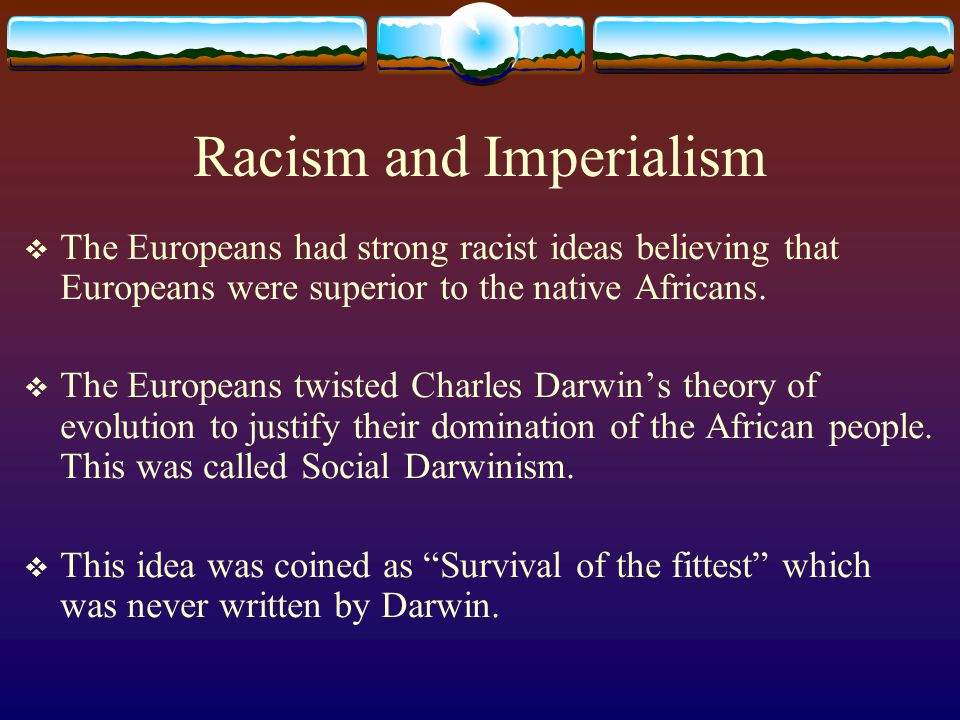 Racism and Imperialism