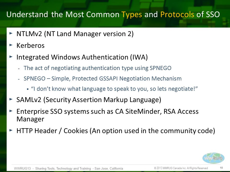Understand the Most Common Types and Protocols of SSO