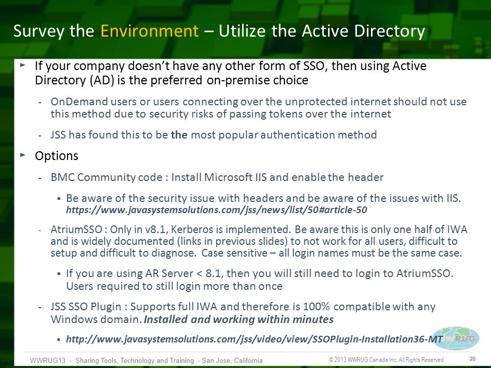 Survey the Environment – Utilize the Active Directory
