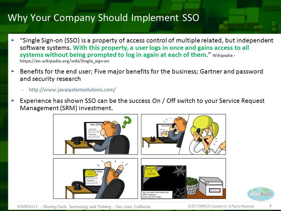 Why Your Company Should Implement SSO