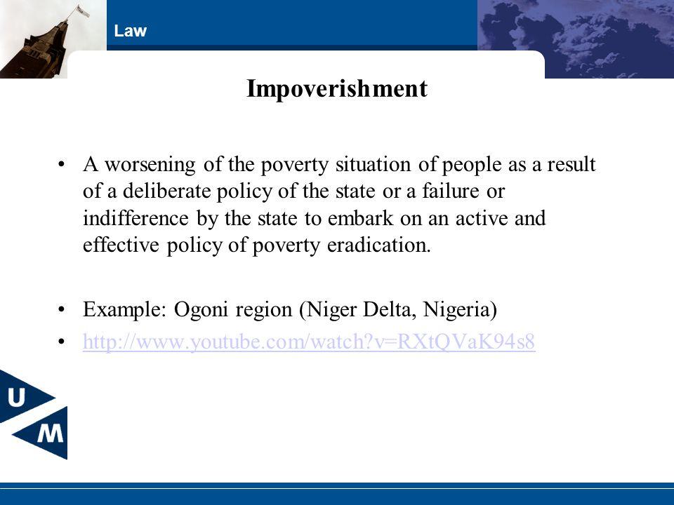 Impoverishment
