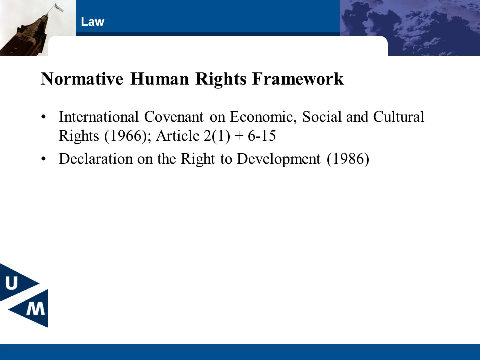 Normative Human Rights Framework