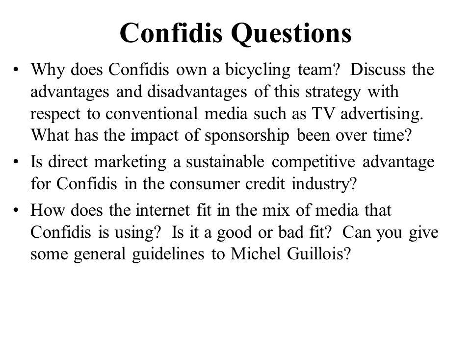 Confidis Questions