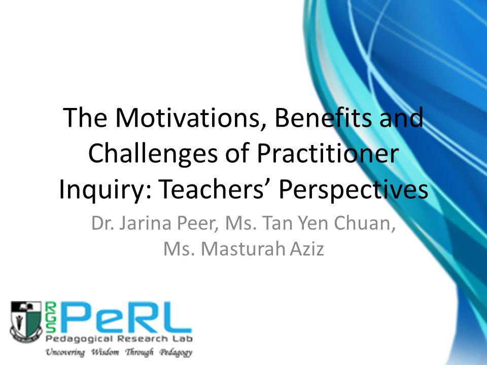 Dr. Jarina Peer, Ms. Tan Yen Chuan, Ms. Masturah Aziz