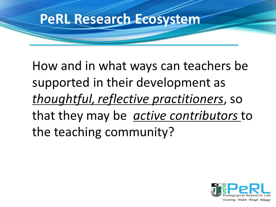 PeRL Research Ecosystem