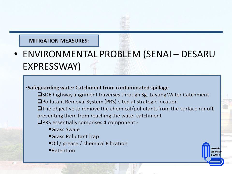ENVIRONMENTAL PROBLEM (SENAI – DESARU EXPRESSWAY)