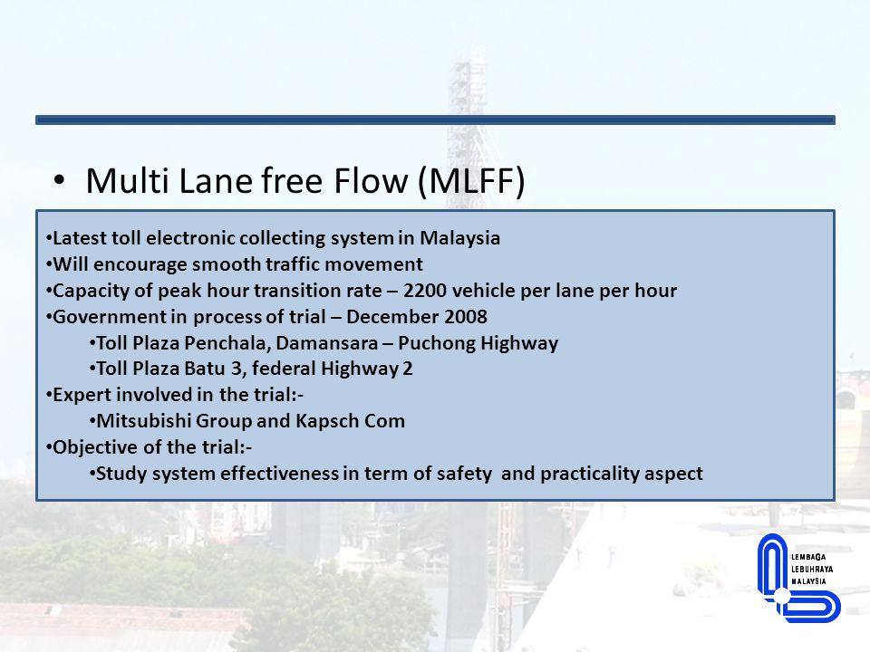 Multi Lane free Flow (MLFF)