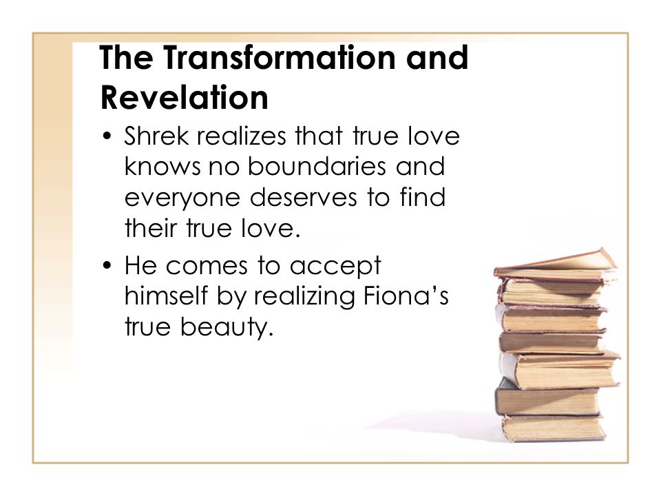 The Transformation and Revelation