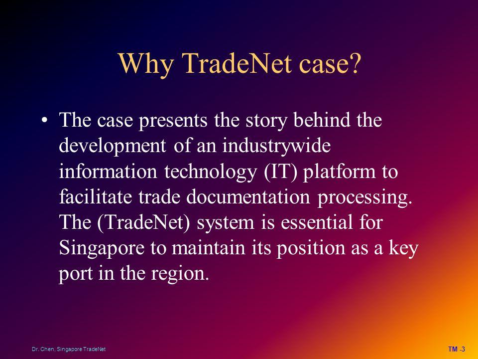 Why TradeNet case