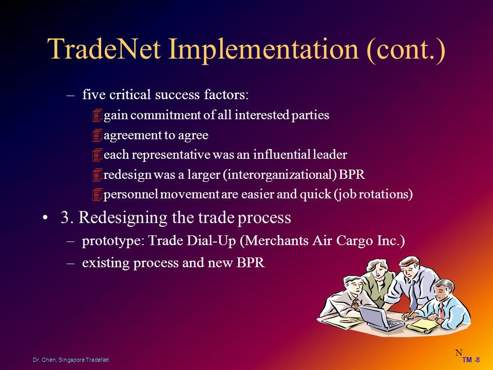 TradeNet Implementation (cont.)