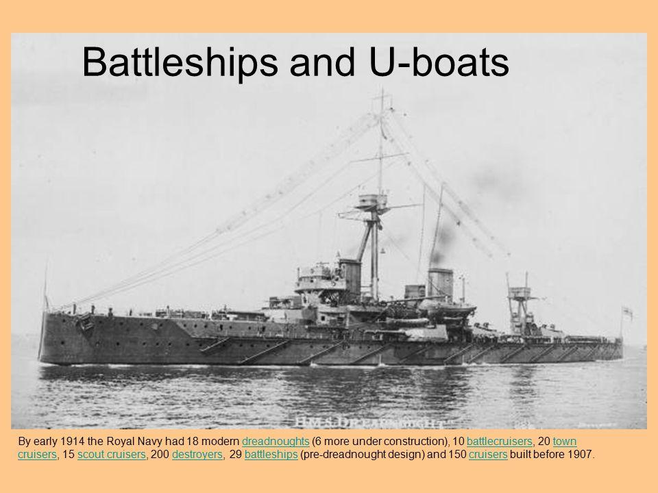 Battleships and U-boats