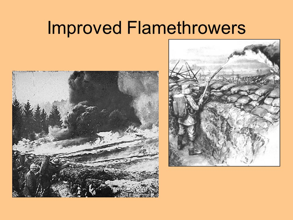Improved Flamethrowers