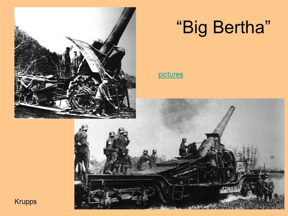 Big Bertha pictures Krupps