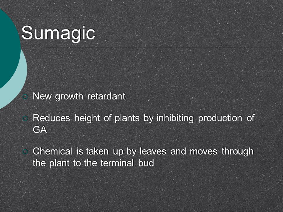 Sumagic New growth retardant