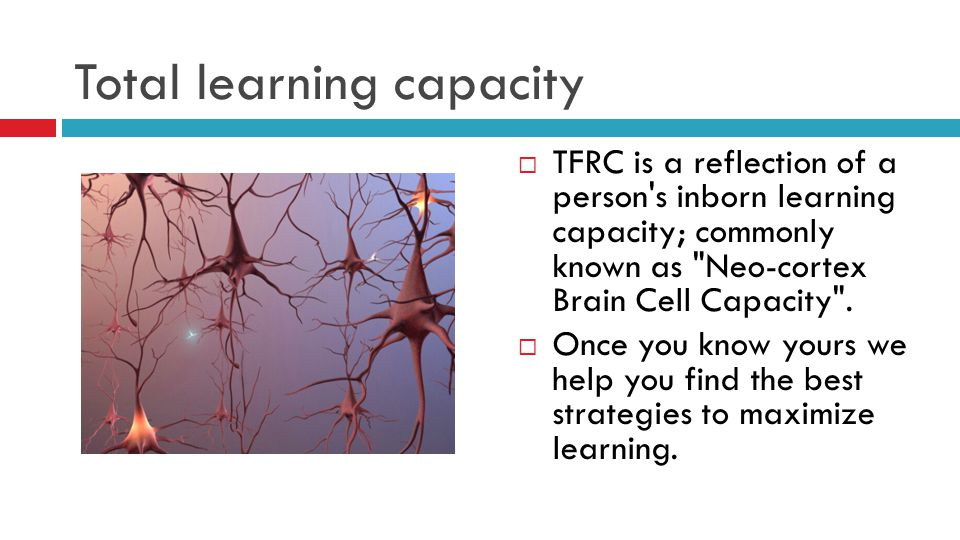 Total learning capacity