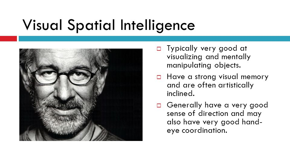 Visual Spatial Intelligence
