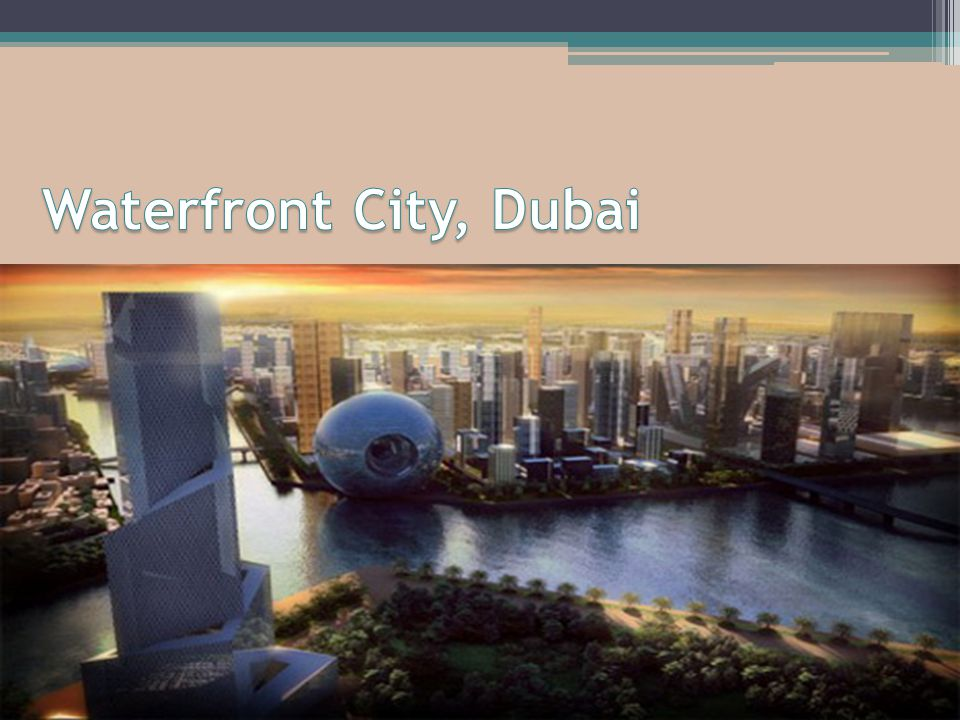 Waterfront City, Dubai