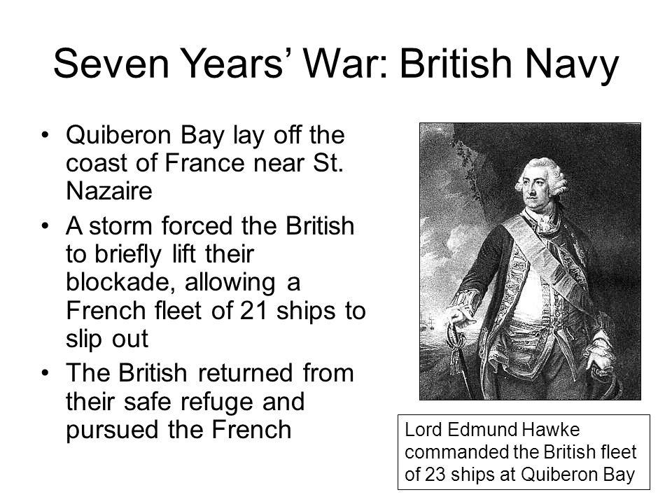 Seven Years' War: British Navy
