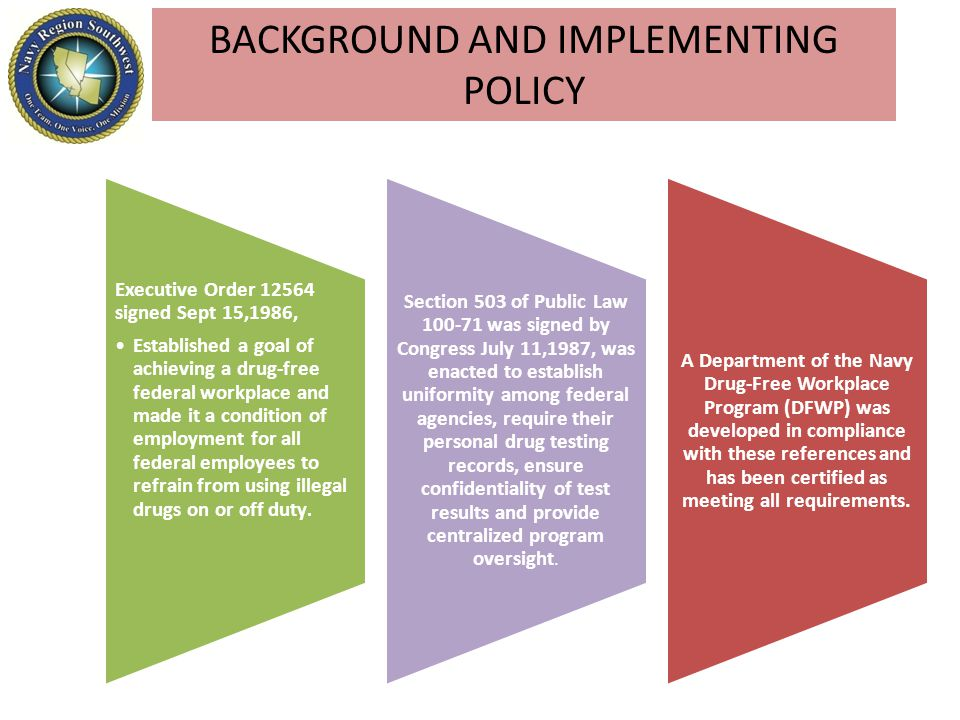 BACKGROUND AND IMPLEMENTING POLICY