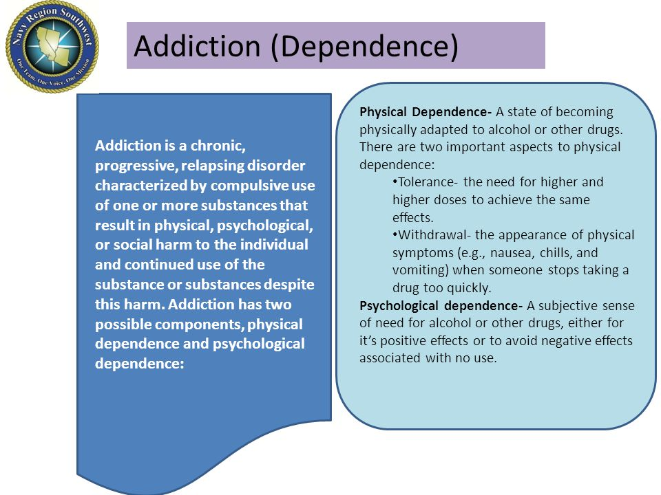 Addiction (Dependence)