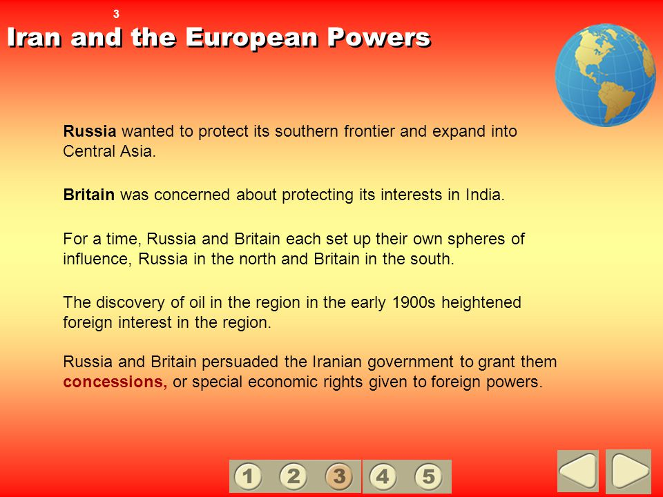 Iran and the European Powers