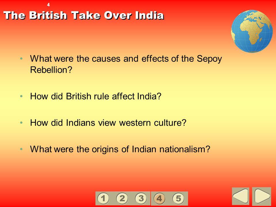 The British Take Over India