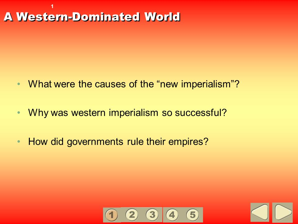 A Western-Dominated World