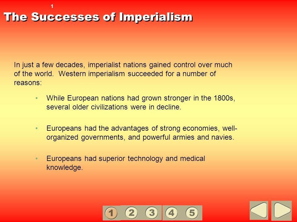 The Successes of Imperialism