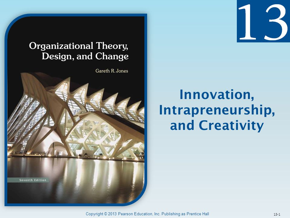 Intrapreneurship, and Creativity