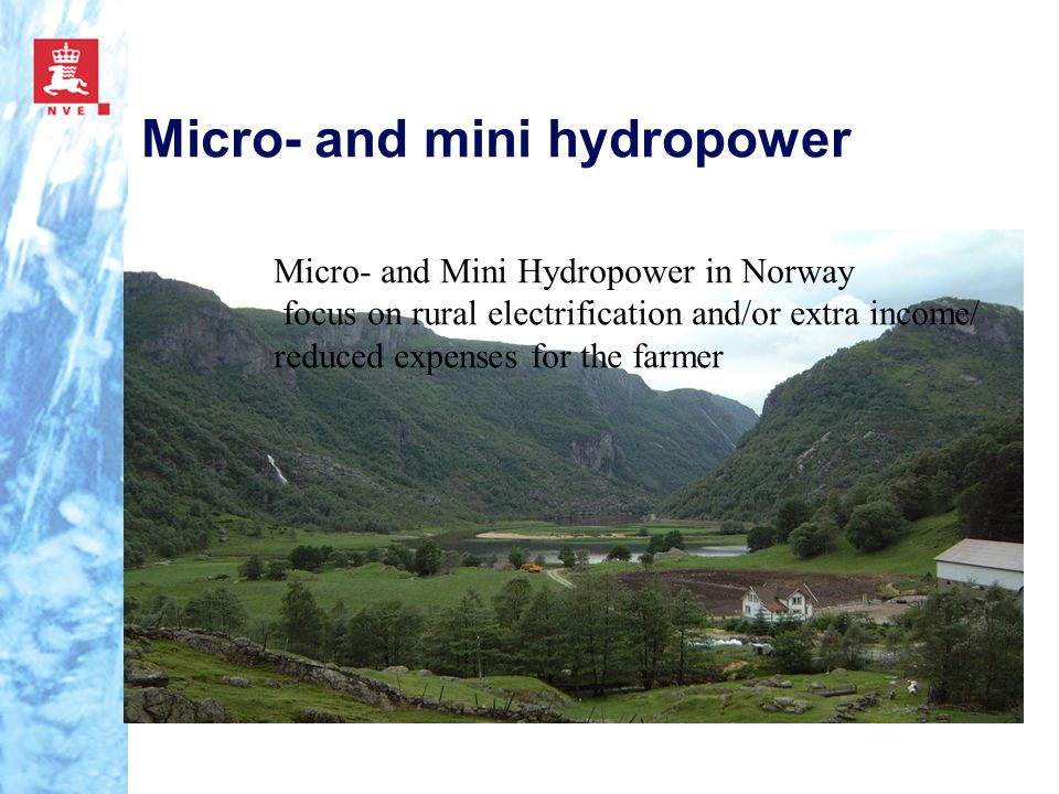 Micro- and mini hydropower