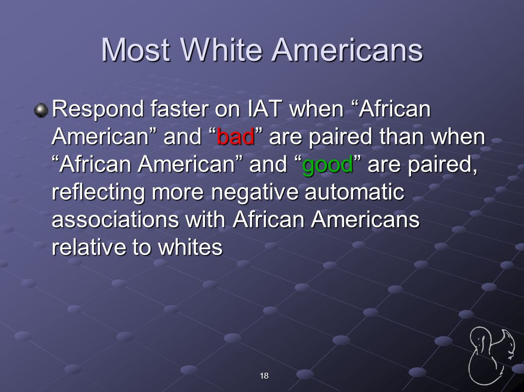 Most White Americans