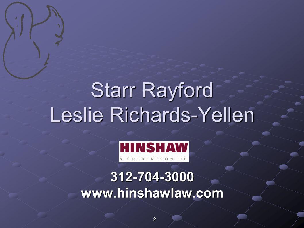 Starr Rayford Leslie Richards-Yellen